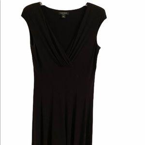 Ralph Lauren Black Short Sleeve Dress Size 14